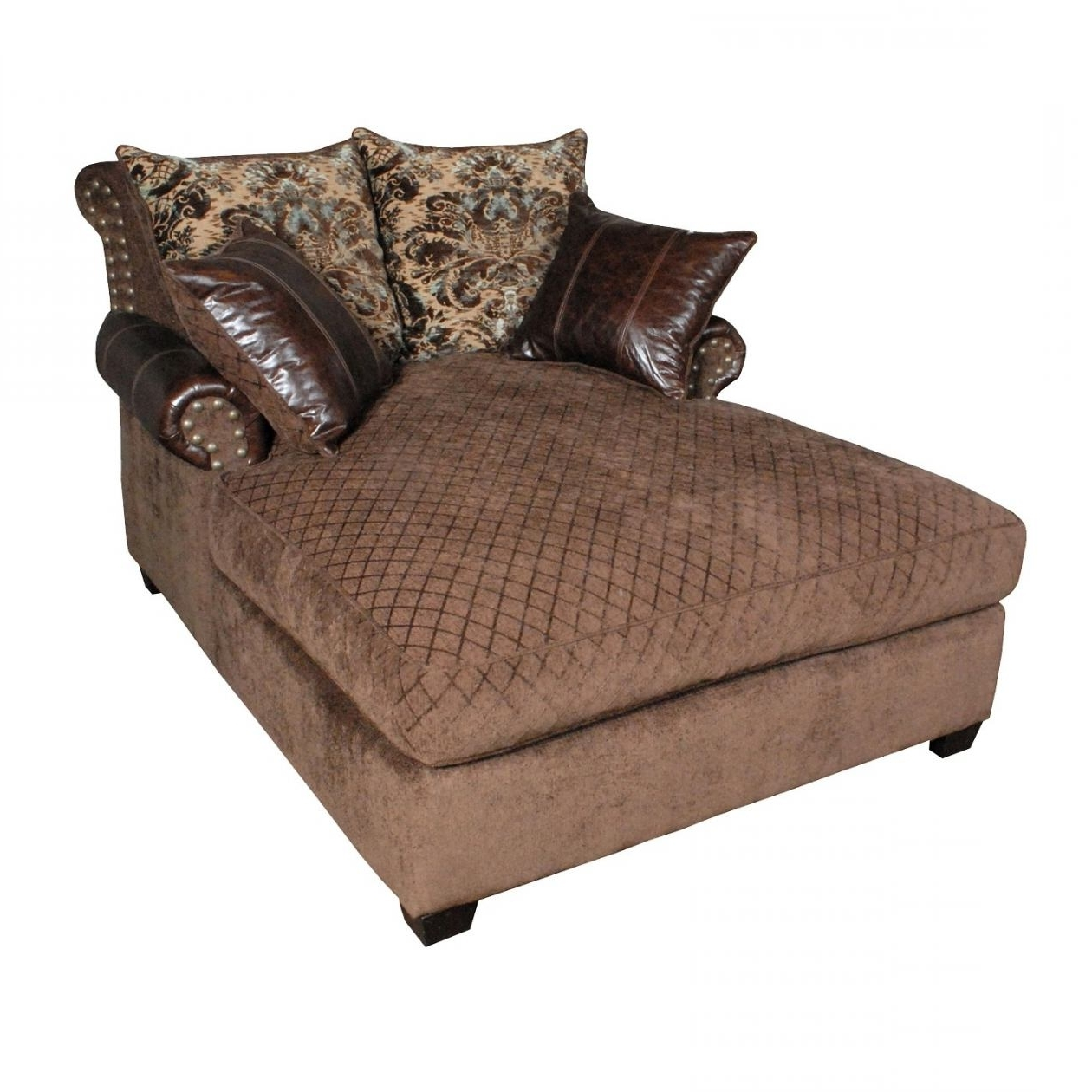 Dtavares For Brown Chaise Lounges (View 6 of 15)
