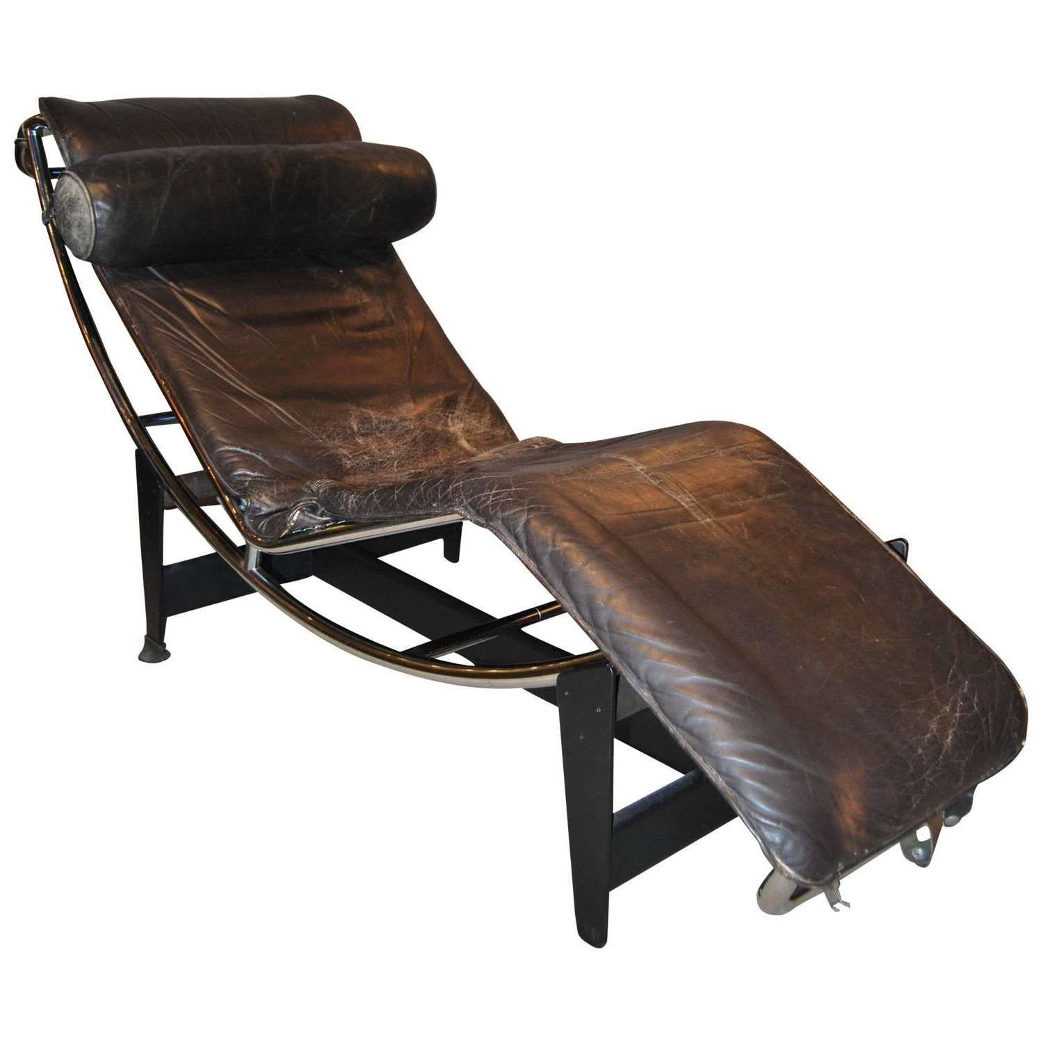 Early Le Corbusier/jeanneret/perriand Lc4 Chaise Lounge For Sale Inside Favorite Le Corbusier Chaises (View 6 of 15)