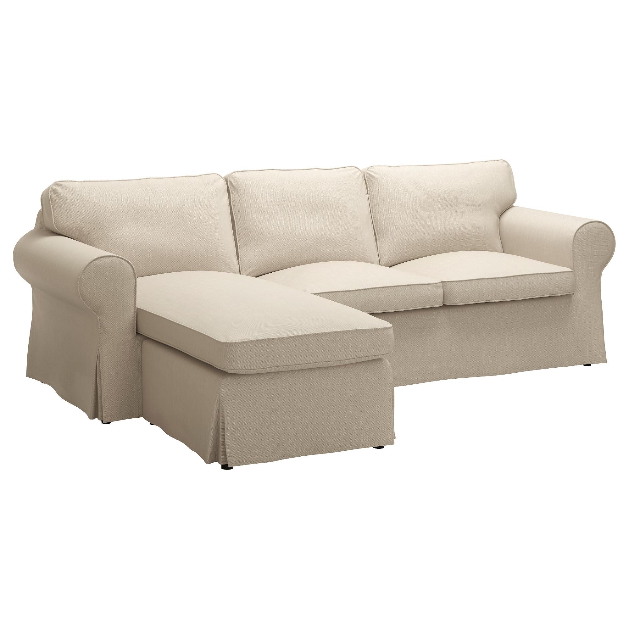 Ektorp Sofa – With Chaise/nordvalla Light Blue – Ikea Regarding Recent Chaise Sofas (View 6 of 15)