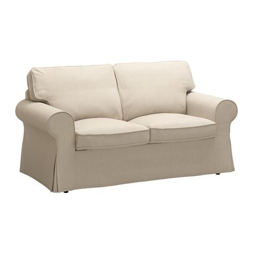 Ektorp Two Seat Sofa – Nordvalla Dark Beige – Ikea Regarding Favorite Ikea Two Seater Sofas (Gallery 8 of 10)