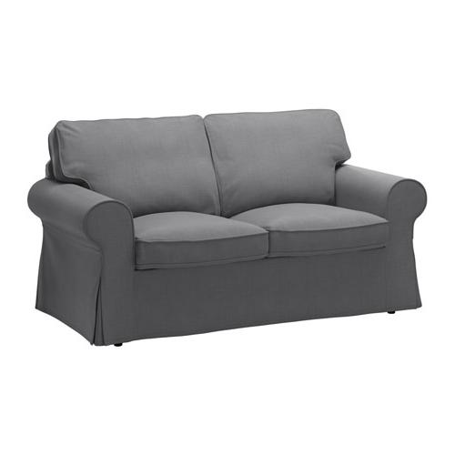 Ektorp Two Seat Sofa Nordvalla Dark Grey – Ikea With Preferred Ikea Two Seater Sofas (Gallery 5 of 10)