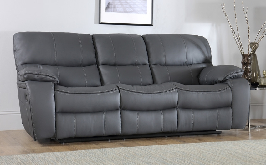 Elegant 3 Seater Leather Sofa 13 Modern Sofa Inspiration With 3 With Regard To Newest 3 Seater Leather Sofas (Gallery 7 of 15)