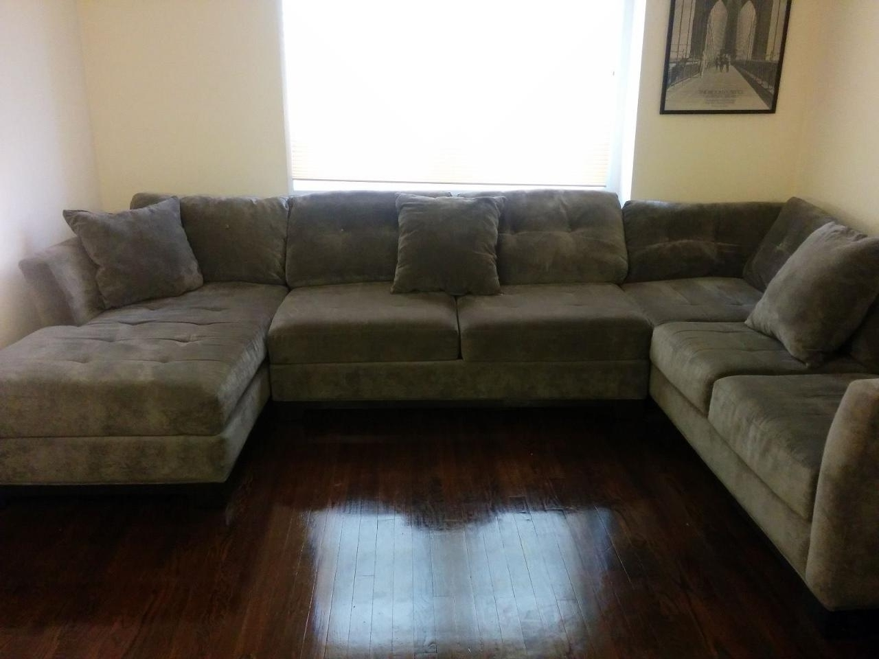 Elegant Elliot Sectional Sofa 3 Piece Chaise 67 For Mitchell Gold Intended For Newest 3 Piece Sectional Sofas With Chaise (Gallery 8 of 15)