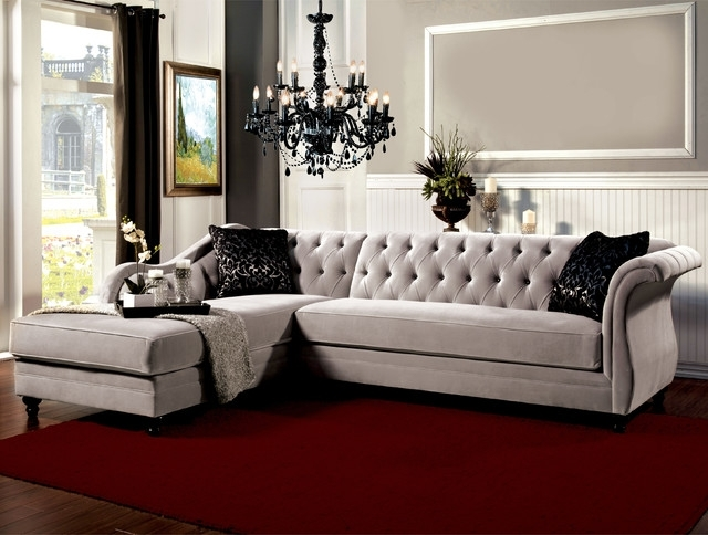 Elegant Sectional Sofas Pertaining To Trendy Sectional Sofa Design: Ten Elegant Sectional Sofas Best Ever (Gallery 1 of 10)