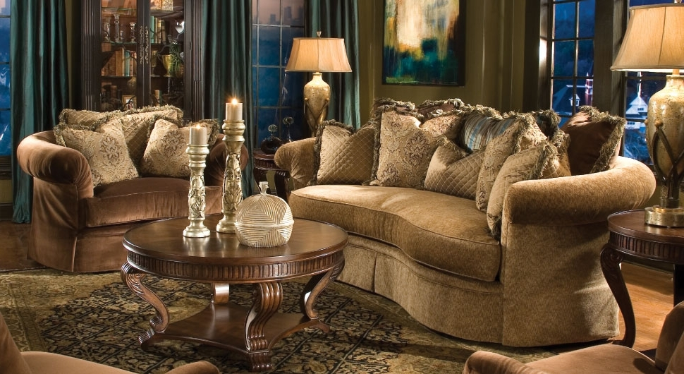Elegant Sofas And Chairs Pertaining To Current Elegant Sofas Living Room (View 10 of 10)