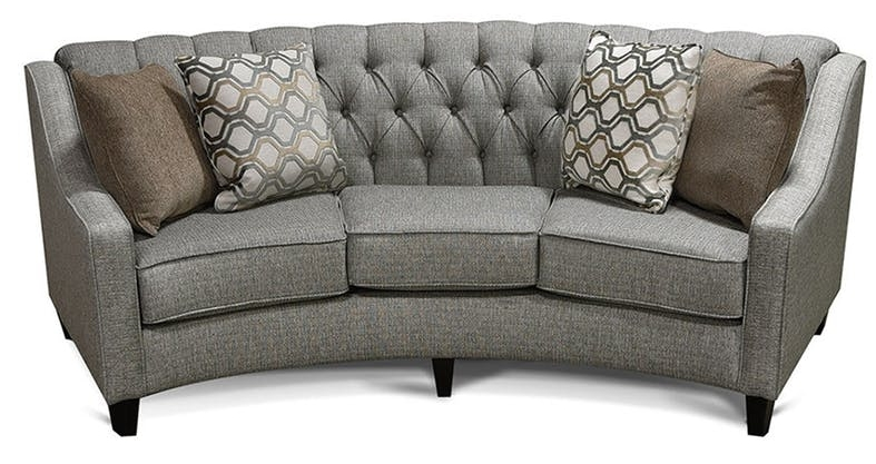 England Furniture Care And In Fashionable Rounded Sofas (View 3 of 10)