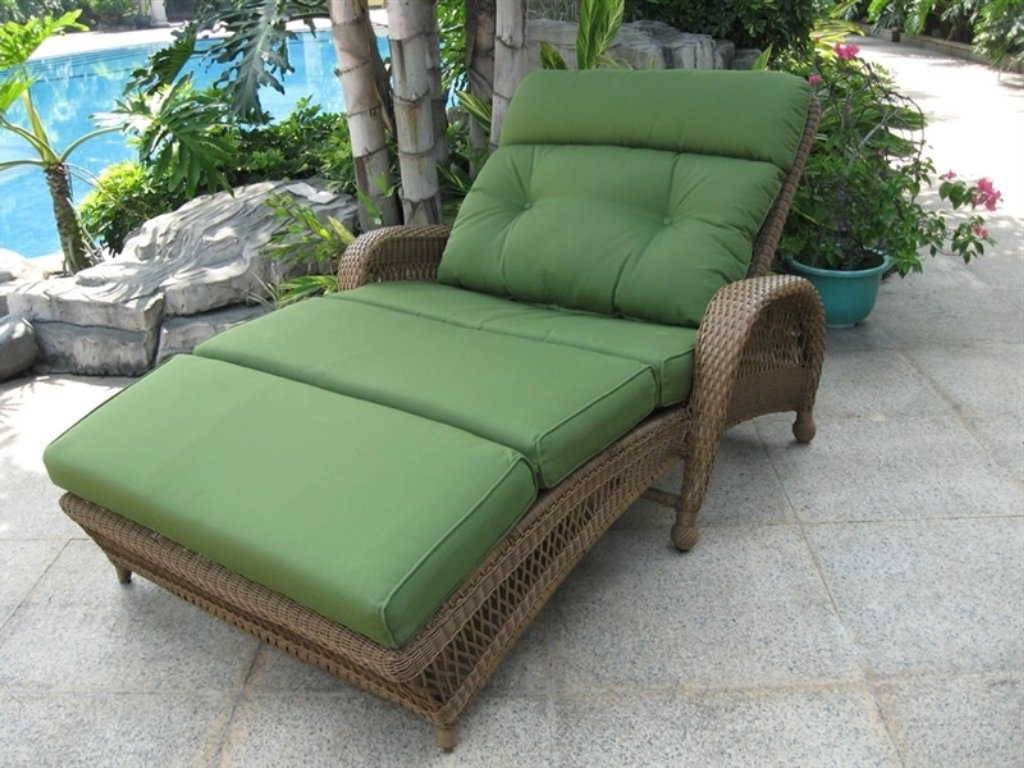 Extra Wide Outdoor Chaise Lounge Chairs Within Well Liked Outdoor : Double Chaise Chair Oversized Chaise Lounge Indoor Extra (View 5 of 15)