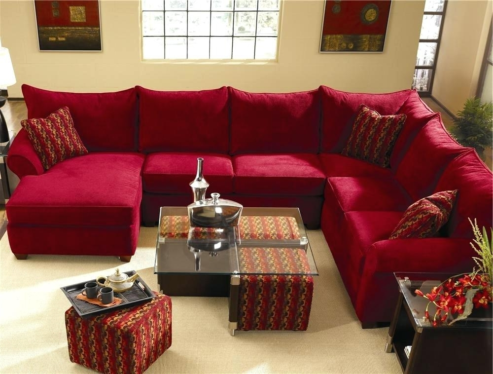 Extraordinary Sectional With Ottoman And Chaise – Taptotrip Throughout Most Current Sectional Sofas With Chaise Lounge And Ottoman (View 2 of 10)