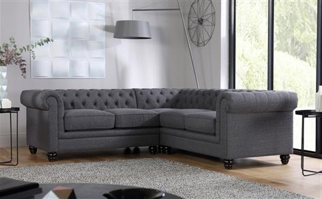 Fabric Corner Sofas Pertaining To Best And Newest Fabric Corner Sofas – Buy Upholstered Corner Sofas Online (View 6 of 10)