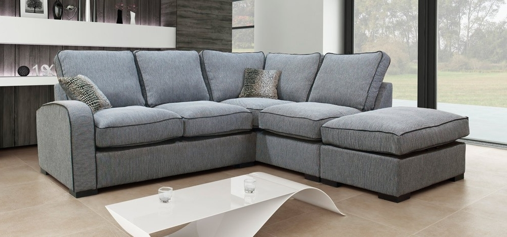 Featured Photo of Fabric Corner Sofas
