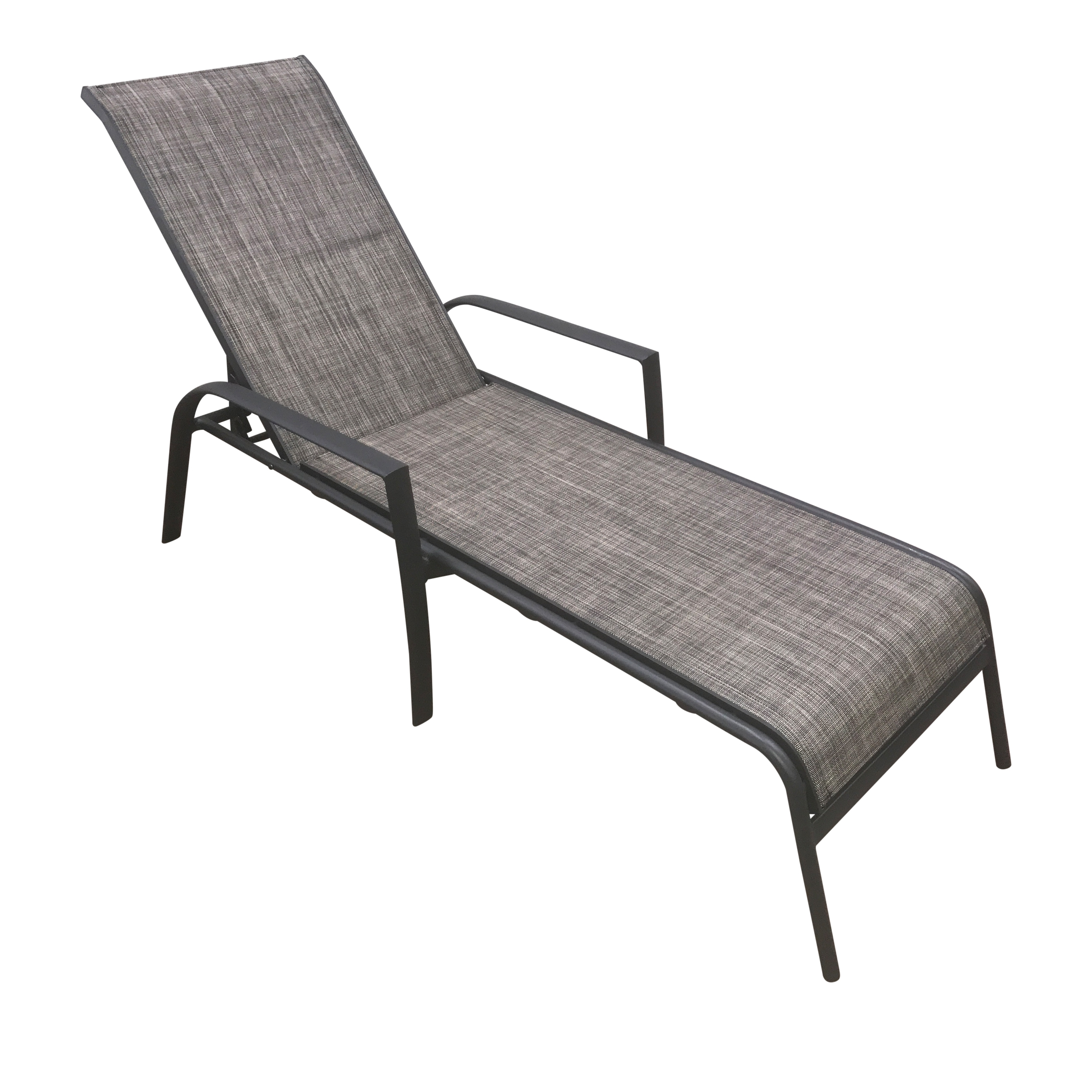 Fabric Outdoor Chaise Lounge Chairs For Well Known Convertible Chair : For Bedroom Stackable Sling Chairs Stacking (View 4 of 15)