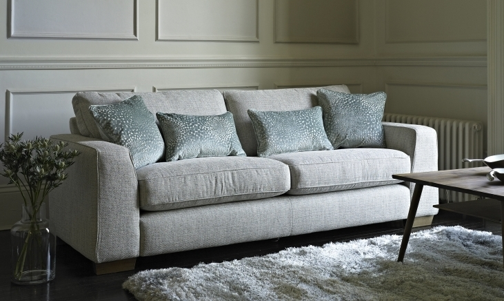 Fabric Sofas Inside Latest Fabric Sofa For Decorating Your Home – Blogbeen (View 3 of 10)