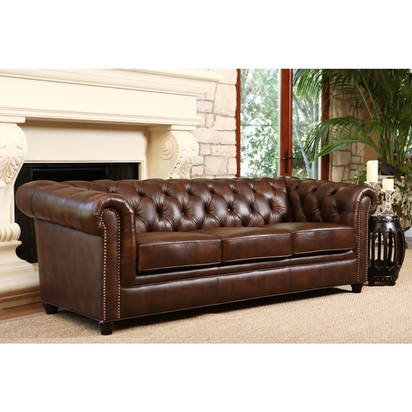 Fabulous Chesterfield Tufted Leather Sofa Leather Chesterfield In Famous Tufted Leather Chesterfield Sofas (View 4 of 10)