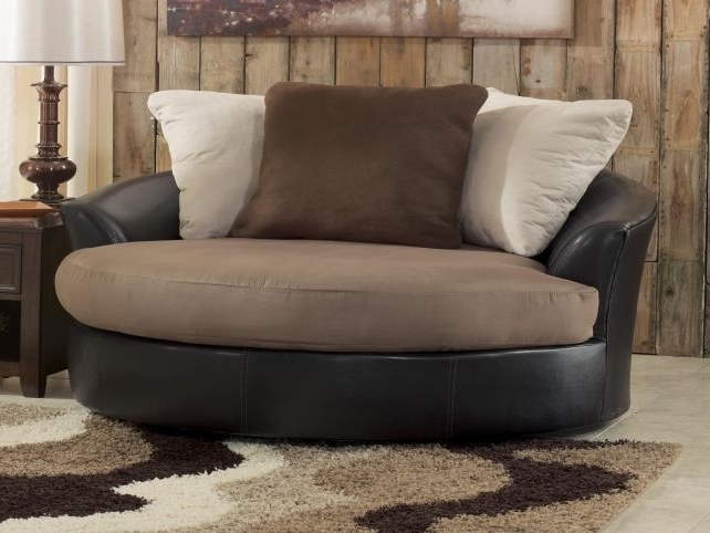 Fabulous Unique Round Sofa Chair Living Room Furniture Swivel Intended For 2018 Big Round Sofa Chairs (View 9 of 10)