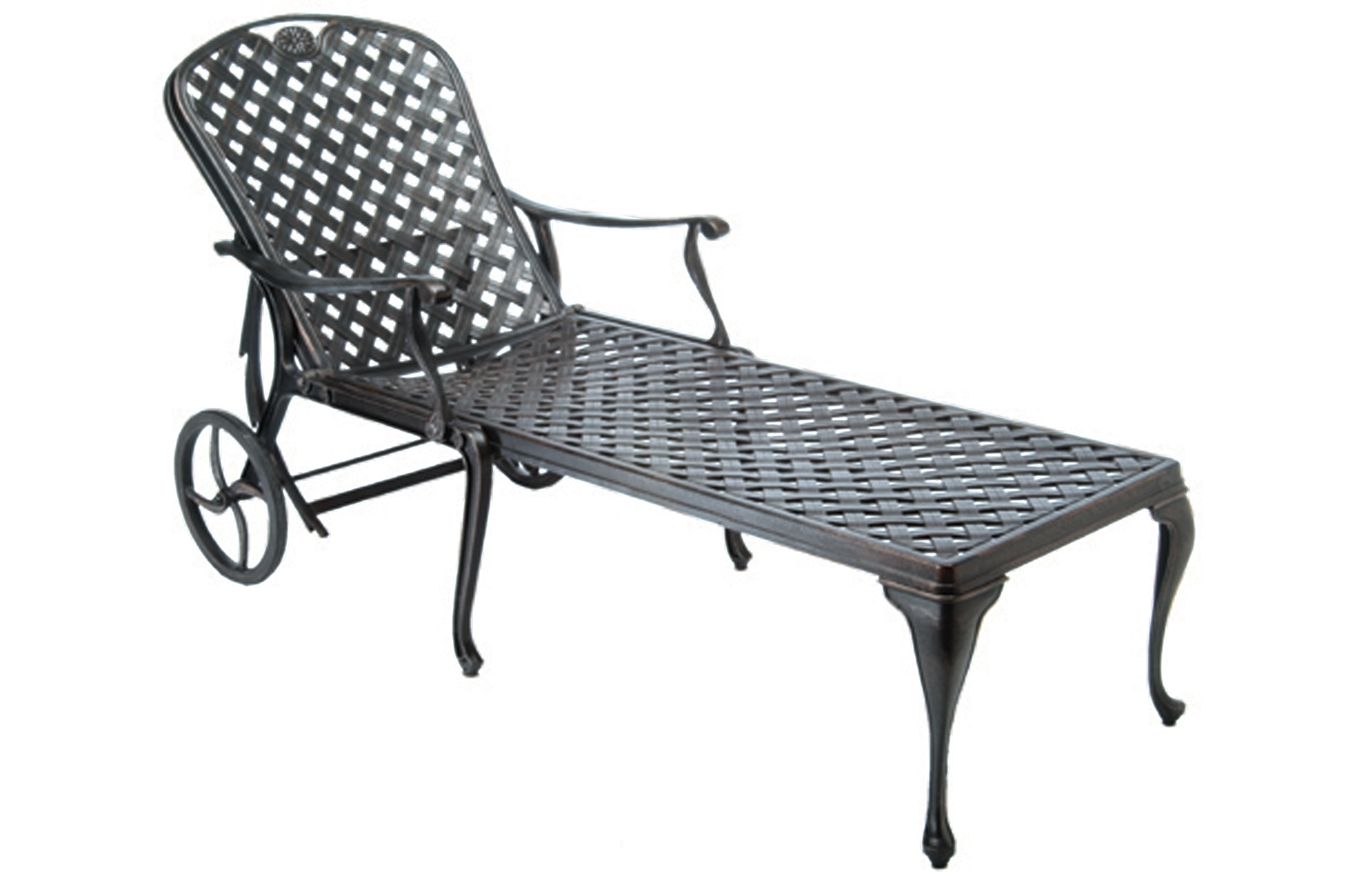 Fall: The Best Season For Entertaining With Outdoor Furniture Intended For Most Recent Outdoor Cast Aluminum Chaise Lounge Chairs (View 4 of 15)