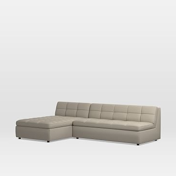Famous Armless Sectional Sofa (View 7 of 10)