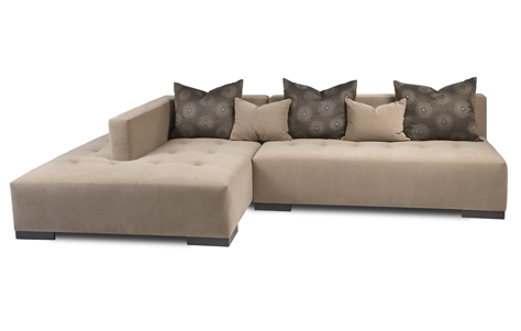 Famous Armless Sectional Sofa (View 6 of 10)