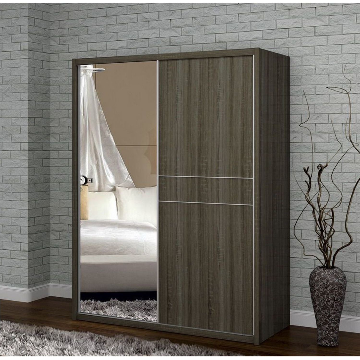 Famous Casa Mia Sliding Door Wardrobe (View 6 of 15)