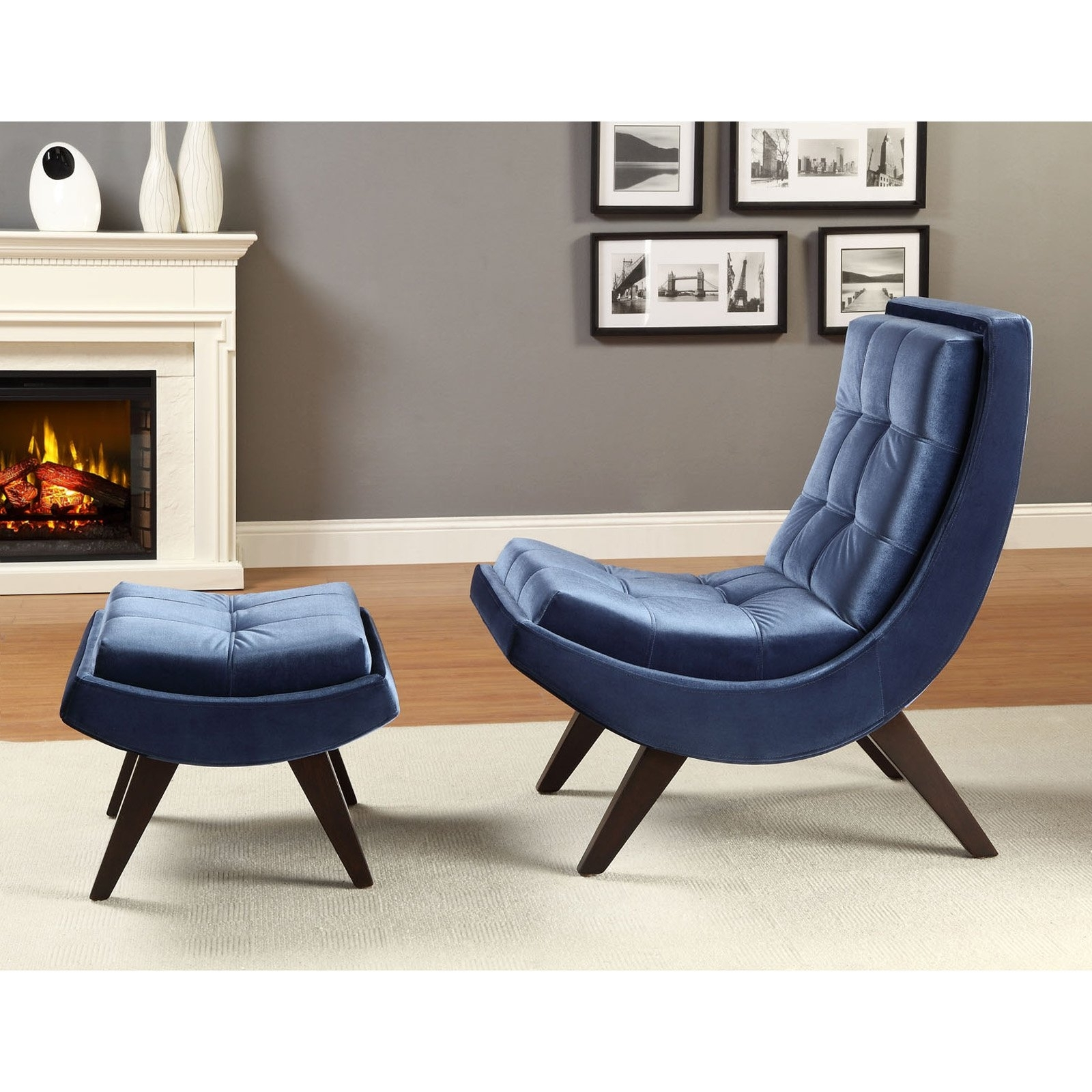 Famous Chaise Lounge Chairs With Ottoman With Regard To Chaise Lounge Chair With Ottoman • Lounge Chairs Ideas (View 3 of 15)