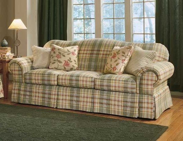 Famous Country Sofas And Chairs With Country Plaid Sofas (View 3 of 10)