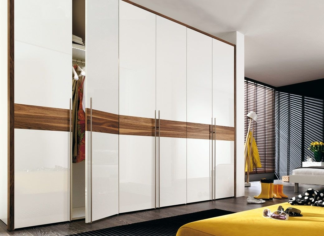 Famous Gloss Wardrobes Pertaining To Image Result For Wardrobe Shutter Doors (View 4 of 15)