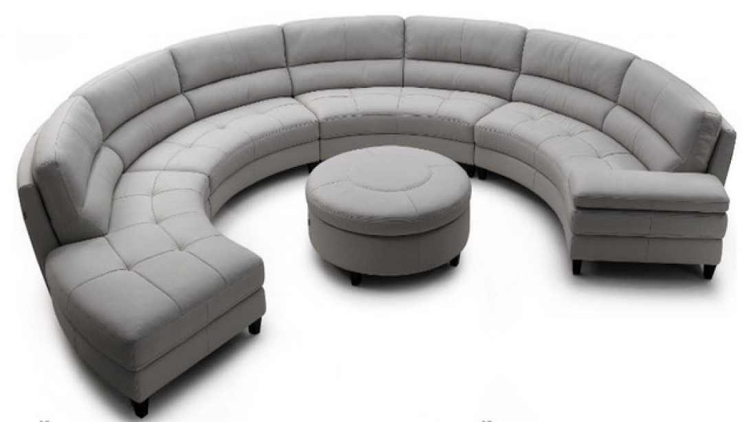 Famous Reliable Semi Circular Sofa Furniture Fantastic Circle Image Ideas In Semicircular Sofas (View 8 of 10)
