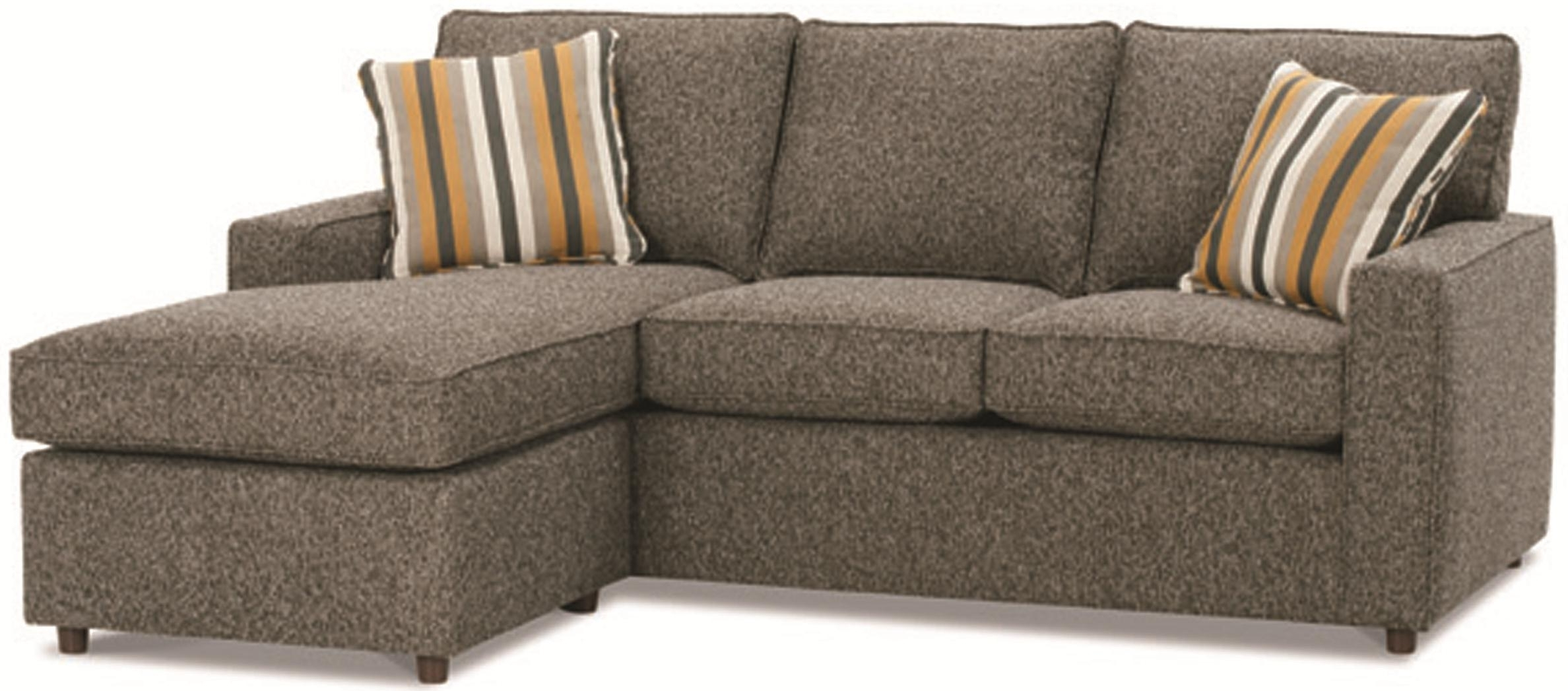 Famous Sofa Chaise Sectionals Inside Small Apartment Size Furniture Apartment Sized Furniture (View 5 of 15)