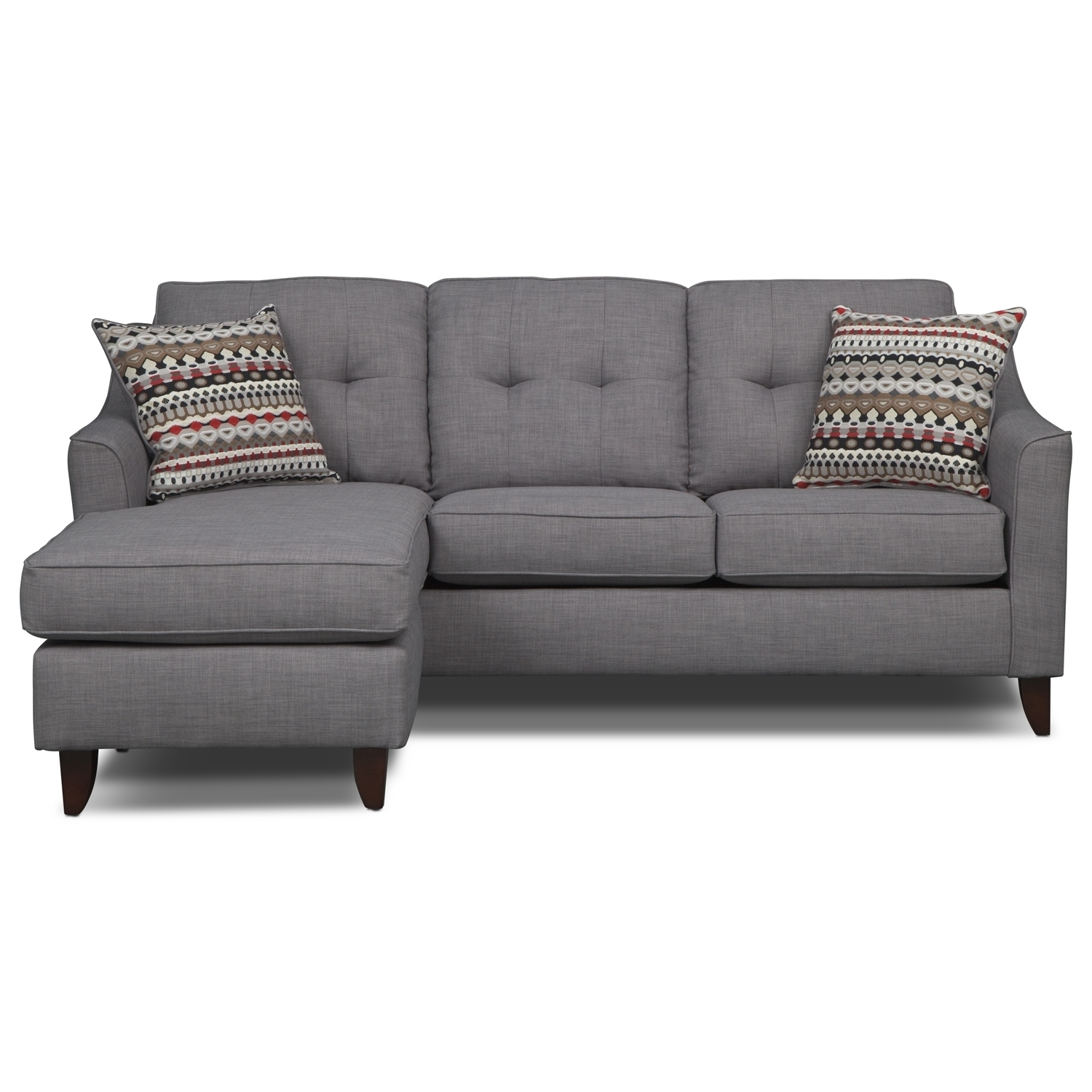 Famous Sofa: Unique Cheap Chaise Sofa Cheap Chaise Lounge, Couches Ikea With Regard To Gray Couches With Chaise (View 5 of 15)