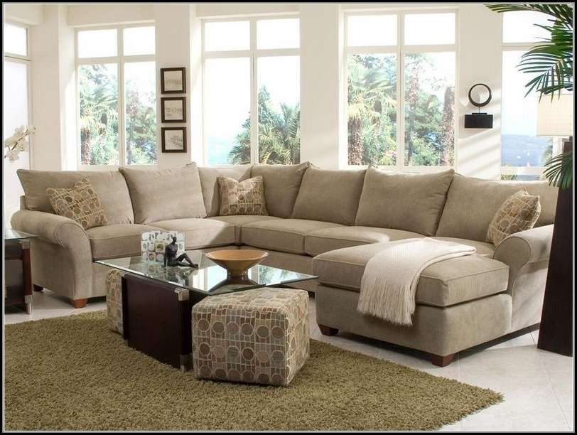 Fancy Sectional Sofa With Chaise And Ottoman With Sectional Sofas Intended For Newest Sectional Sofas With Chaise Lounge And Ottoman (View 3 of 10)