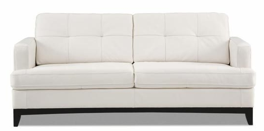 Fascinating Leather White Sofa Protecting White Leather Sofas From In Latest White Leather Sofas (View 4 of 10)