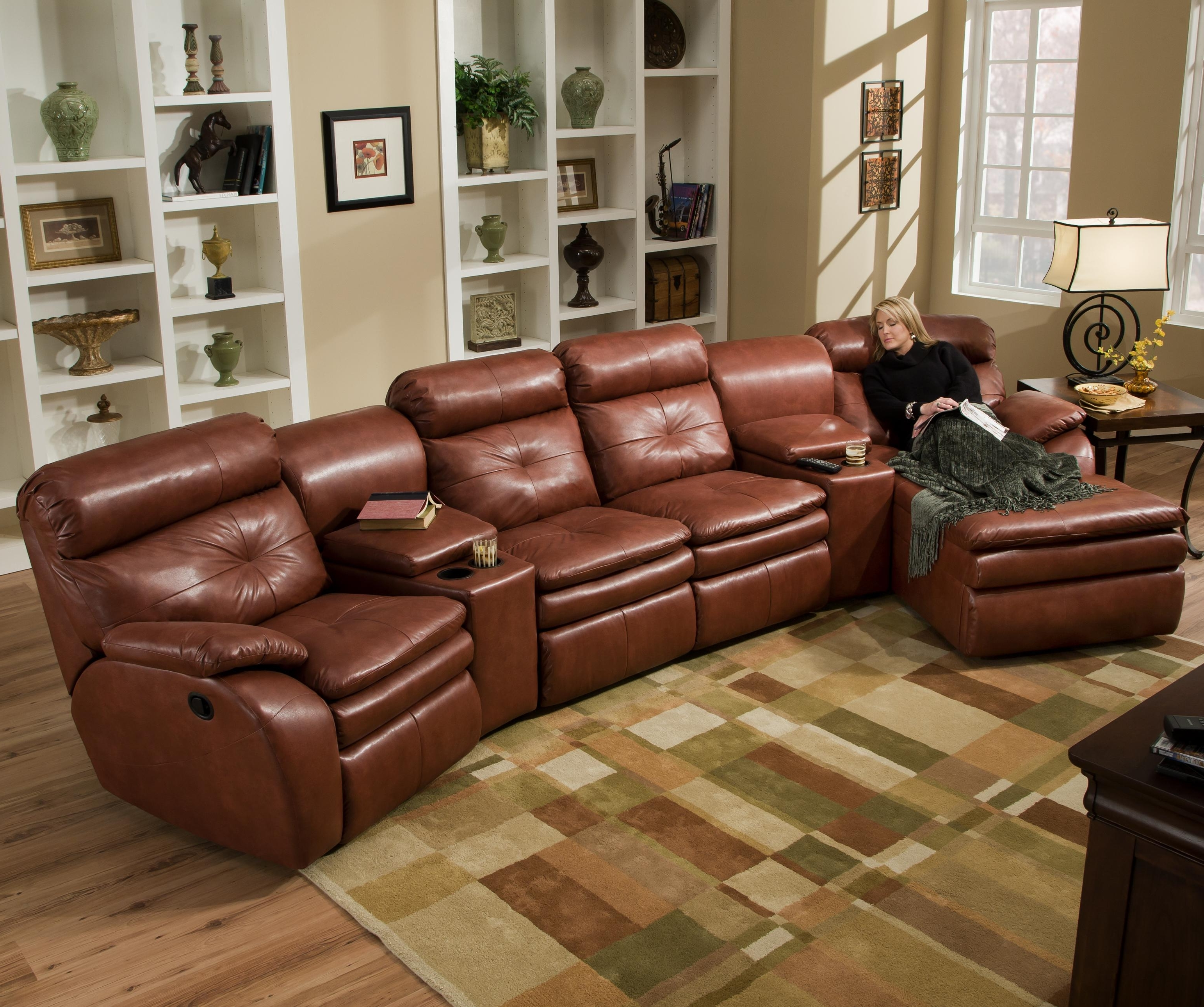 Fashionable Ashley Furniture Sectional Couch Small Sectional Sofa Bed Small With Sectional Sofas With Recliners And Chaise (View 2 of 15)