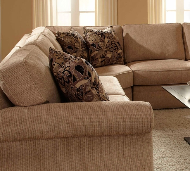 Fashionable Broyhill Sectional Sofas Throughout Sectional Sofa Design: Adorable Broyhill Sectional Sofas Broyhill (View 7 of 10)