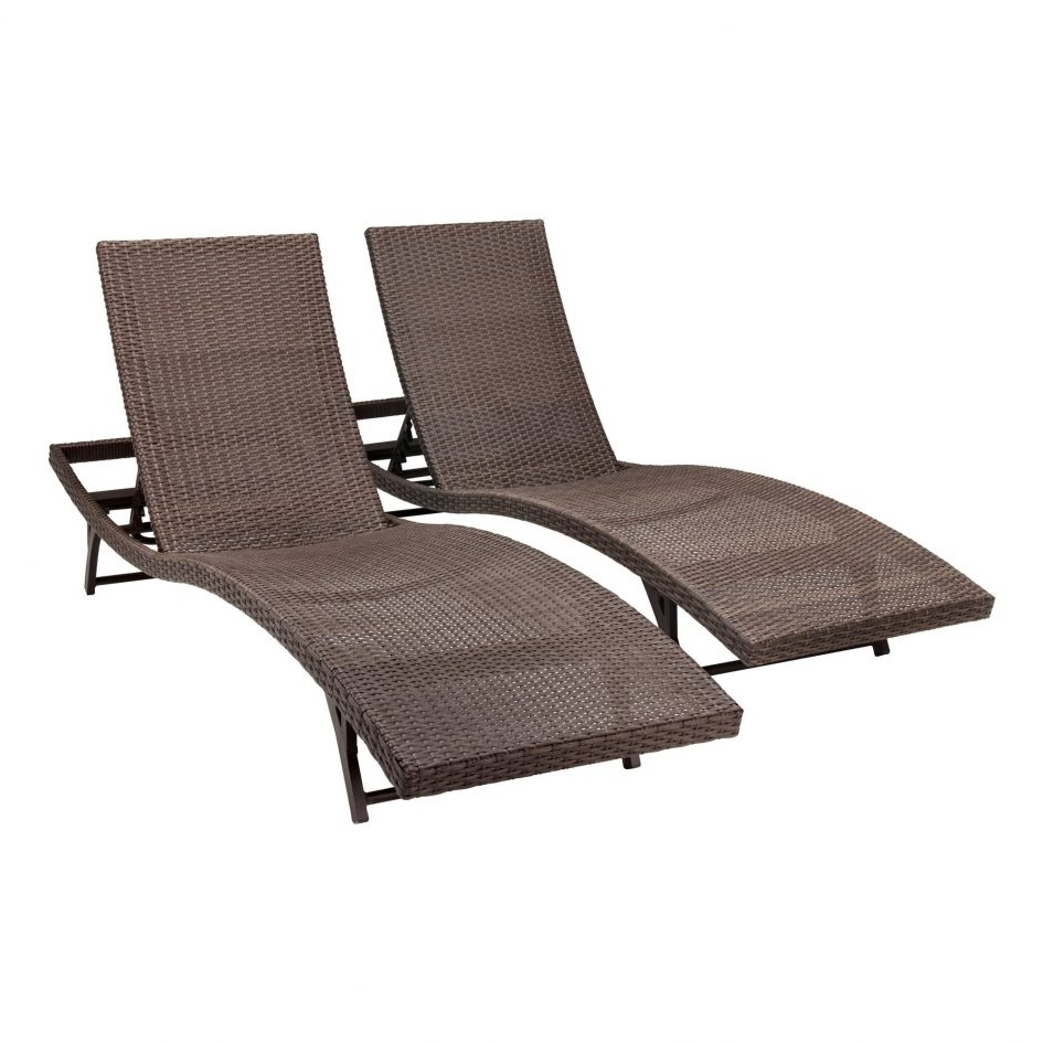 Fashionable Chaise Lounge Chairs For Patio Throughout Patio Set Clearance Metal Patio Table Garden Patio Furniture Pool (View 6 of 15)