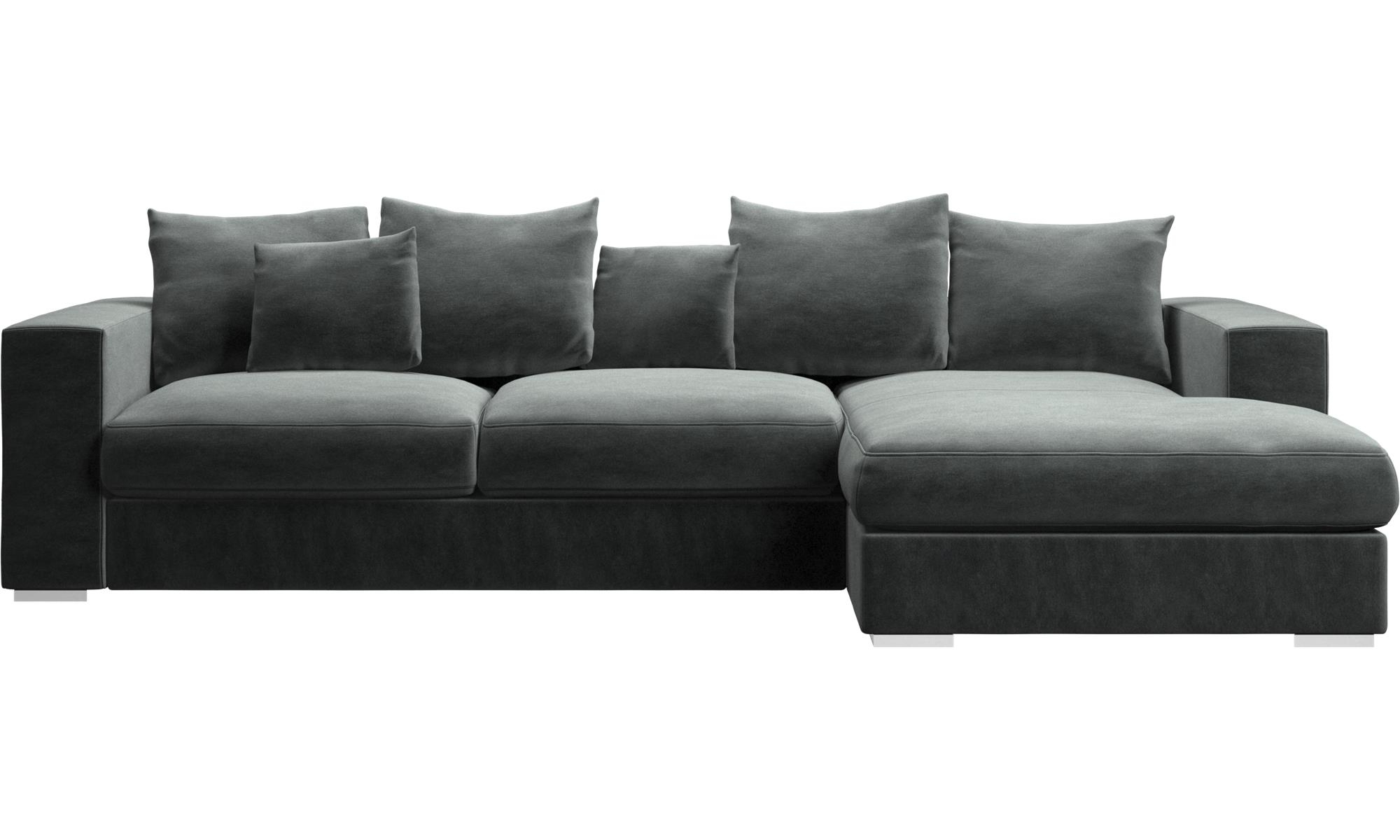 Fashionable Chaise Lounge Couches Pertaining To Chaise Lounge Sofas – Cenova Sofa With Resting Unit – Boconcept (View 6 of 15)