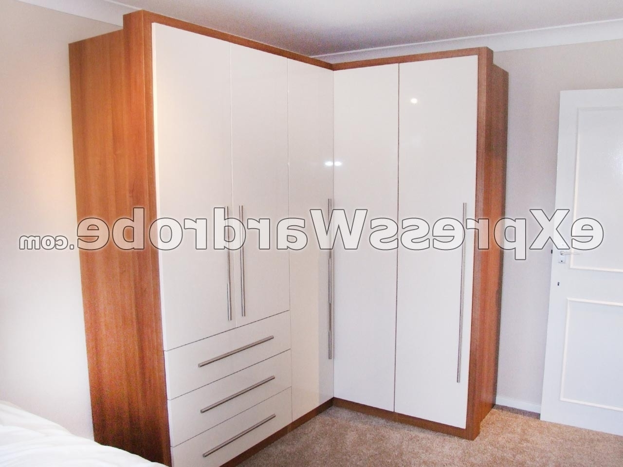 Fashionable Cheap Corner Wardrobes Within Inspirational Cheap Corner Wardrobes Uk – Badotcom (View 5 of 15)