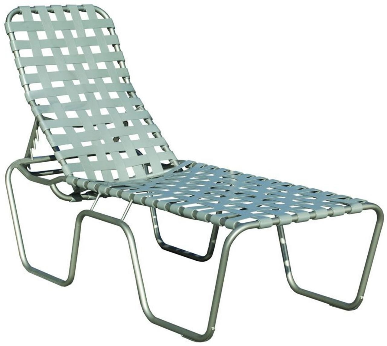 Fashionable Commercial Basketweave Strap High Seat Chaise Lounge Sanibel Intended For Chaise Lounge Strap Chairs (View 11 of 15)