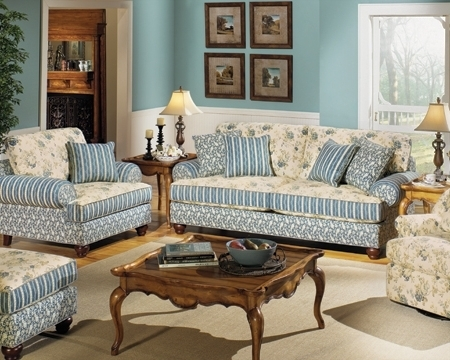 Fashionable Country Cottage Sofas And Chairs Throughout Cottage Style Furniture Living Room – Coma Frique Studio #f038Cbd1776B (View 5 of 10)