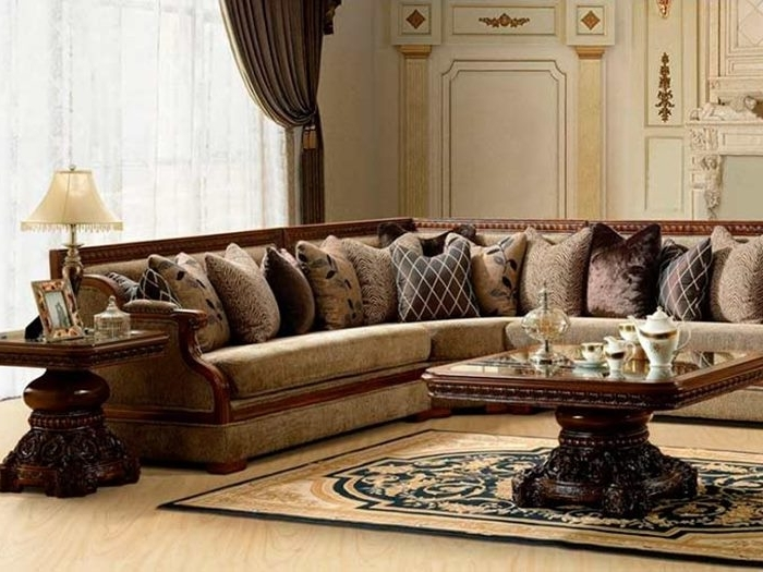 Fashionable Elegant Sectional Sofas Intended For Classic Sectional Sofa For Elegant Living Room – 4 Home Decor (View 2 of 10)