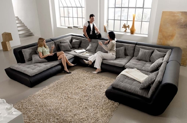 Fashionable Leather Modular Sectional Sofas With Leather Modular Sectional Sofa Centerfieldbar Sectional Sofas (View 6 of 10)