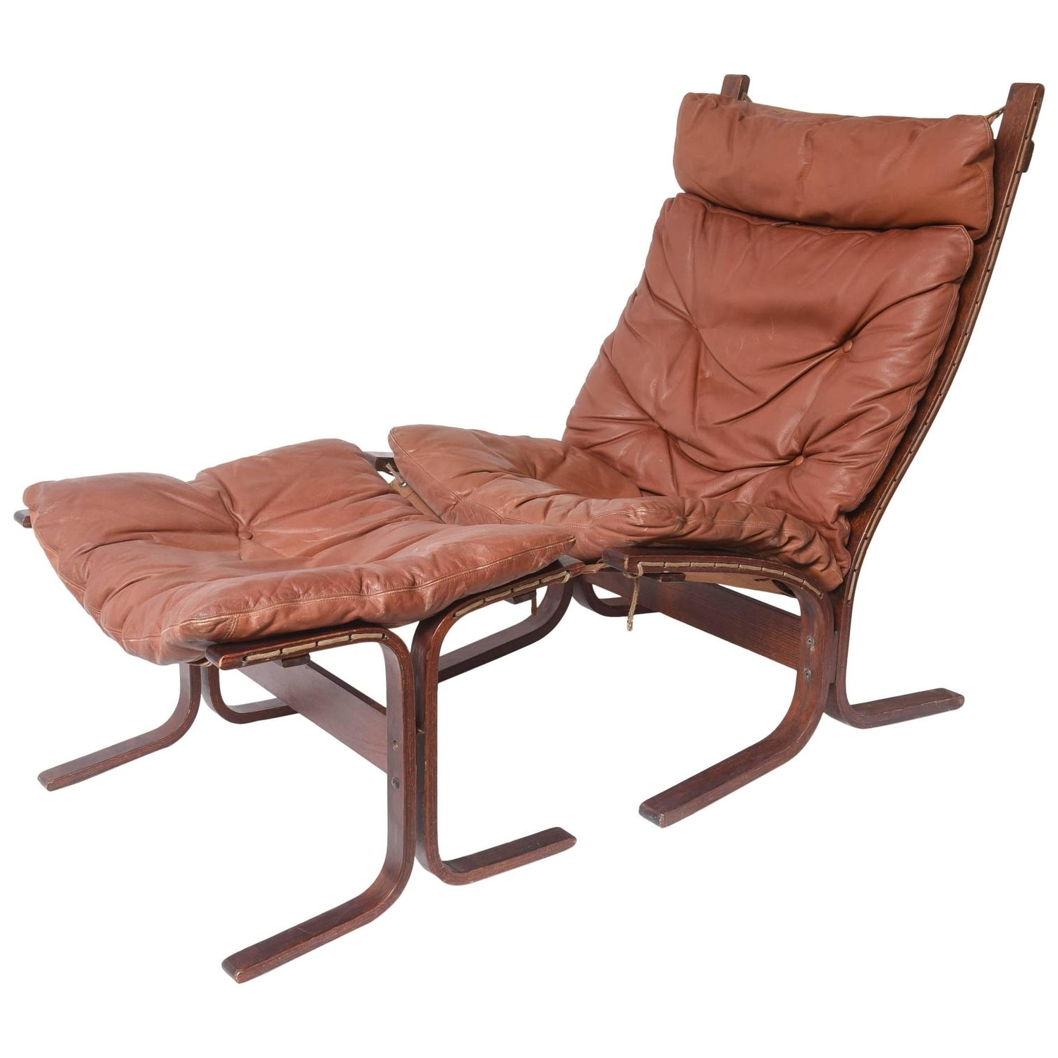 Fashionable Lounge Chair : Chaise Lounge Chair Scandinavian Chair And Ottoman Pertaining To Chaise Lounge Chairs With Ottoman (View 7 of 15)