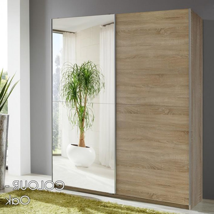 Fashionable Mirror Design Ideas: 2 Door Sliding Wardrobe Mirrored Doors, B&q With Regard To One Door Mirrored Wardrobes (View 4 of 15)