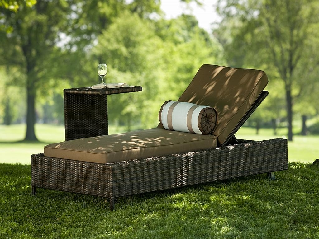 Fashionable Nevis All Weather Poolside Chaise Lounge – 1211 Inside Grey Wicker Chaise Lounge Chairs (View 3 of 15)
