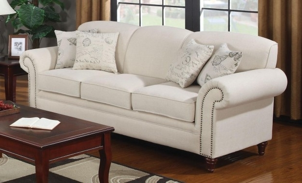 Fashionable Off White Leather Couch White Leather Couch Decorating Ideas White Intended For Off White Leather Sofas (View 8 of 10)