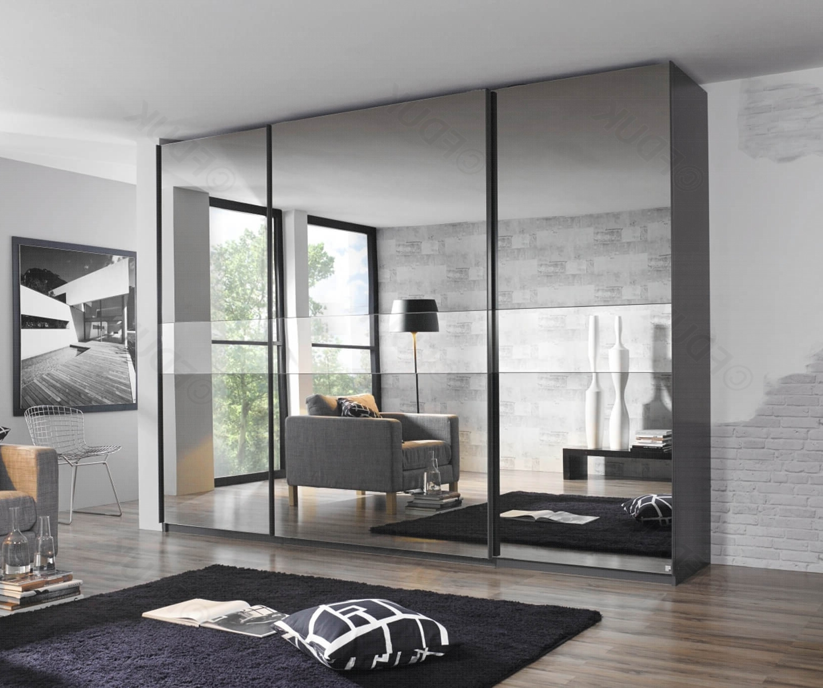 Fashionable Rauch Sliding Wardrobes Within Rauch Furniture Bayamo (View 13 of 15)