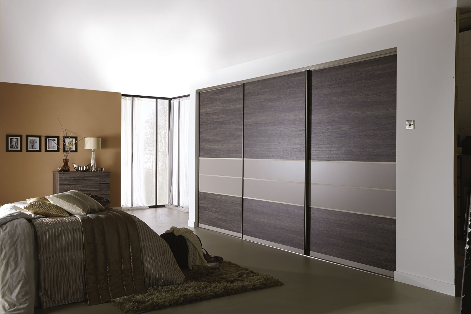 Fashionable Sliding Wardrobes – Sliding Wardrobessliding Wardrobes With Coloured Wardrobes (View 11 of 15)