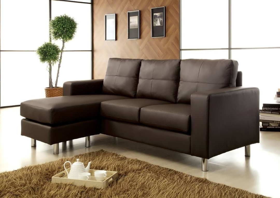 Fashionable Small Chaise Sectionals Within Sofa : Small Sectional With Chaise Sectionals For Small Spaces (View 3 of 15)