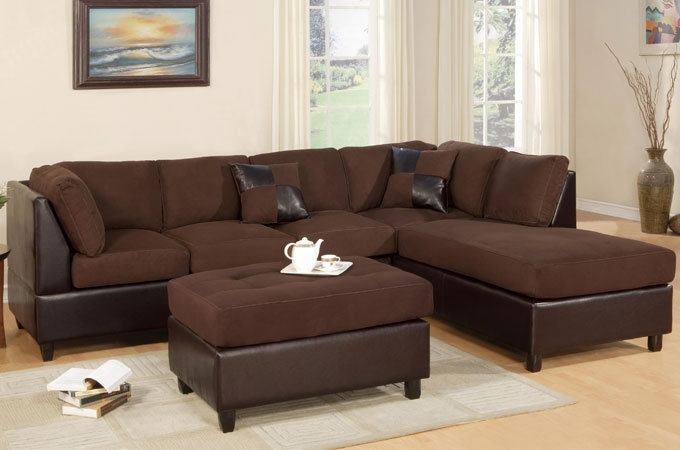 Fashionable Sofa Beds Design: Latest Trend Of Unique Chocolate Brown Sectional With Chocolate Brown Sectional Sofas (View 6 of 10)