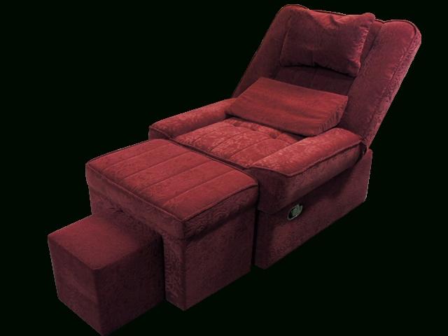 Fashionable Szmu 02 Fabric Reclining Foot Massage Sofa W/ Lines Massage Spa In Foot Massage Sofas (Gallery 5 of 10)