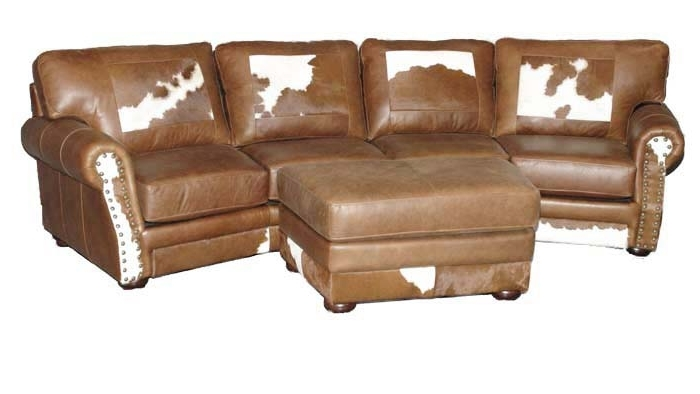 "Fashionable Western Style Sectional Sofas In Way Cool ""cowboy"" Furniture. Really ""statement"" Pieces (View 8 of 10)"