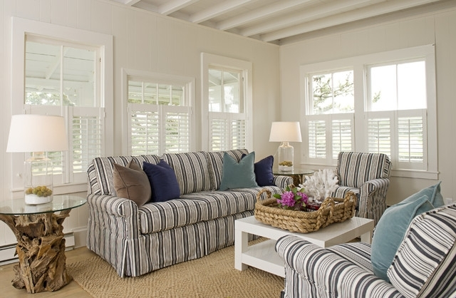 Fashionable What Goes With A Striped Sofa? Regarding Striped Sofas And Chairs (View 9 of 10)